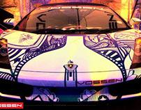 VOSSEN CAR GRAFFITI