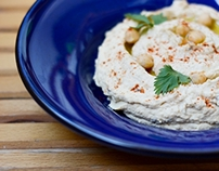 Food photography/Humus