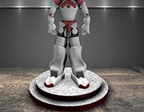 3D Robot... model