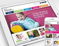 Kids Research Institute : Website Redesign