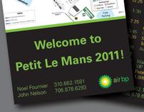 Air BP Petit Le Mans Card