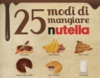 25 modi di mangiare Nutella