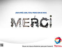 "TOTAL ""Merci"""