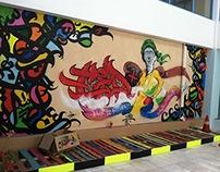 graffiti tedx mukalla