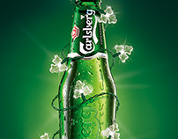 Carlsberg Christmas edition.