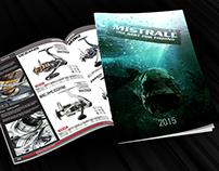 Projekt okładki firmy Mistrall