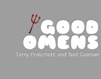Book Redesign Project: Good Omens by Neil Gaiman
