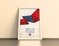 DBP 2015 Calendar design