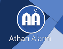 Athan Alarm App - Android Material Design