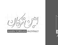 Amin Torkan Logo Design