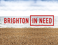 Brighton in Need - Logo (Featured on Creative Review)
