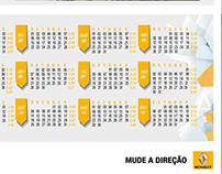Calendar 2015 for Renault