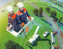 ČEZ - advertising campaign