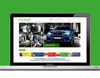 Website Design for Automatic Car Wash