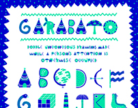 Garabato font + animations