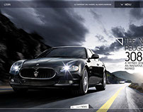 Car Web Design