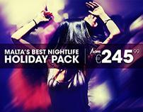Malta's best Nightlife Holiday Pack
