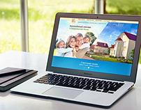 Landing page для коттеджного поселка в Лен. области
