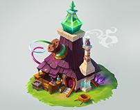"Test task ""Alchemist's house"""