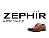 Zephir shoes web site