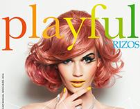 Rizos Hairdressing: Branding & Brochure Design