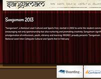 Sangamam Fest Website