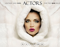 ACTORS leather/fur website