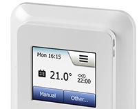 UX Design - OJ Microline Floor Heating Thermostat