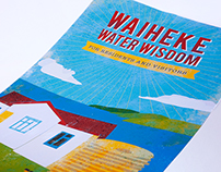 Water Conservation Flier – Waiheke Local Board
