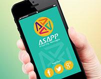 asap - logo design concept