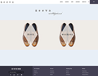 Landing-page Design for Zeeva Shoes