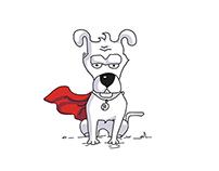 super dog and super hero