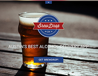 BrewDrop Website Redesign