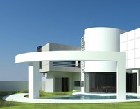 Perspective, residence in Musquat, Oman