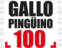 gallopingüino 100
