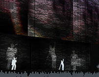 Stage Design for a Depeche Mode Concert