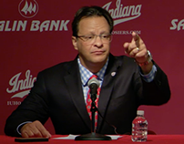 IU Coach Tom Crean - Salin Bank