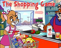 "Art Direction for ""The Shopping Game"" App Screens"