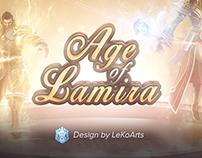 Age of Lamira - Webdesign