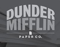Dunder Mifflin Paper Co Rebrand