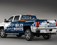 Billy Boxes Truck Wrap