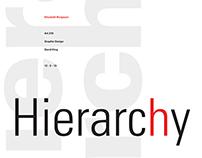 Foundation Design  |  Hierarchy