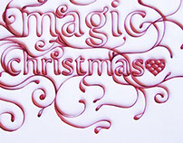 Wish you a magic christmas