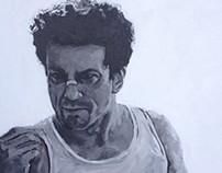 Robert Dinero in Raging Bull