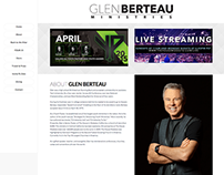 Glen Berteau Ministries Website 2014