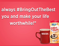 "Nestle CoffeeMate ""Bring Out The Best"" Animated Video"