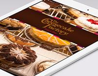 Cheesecake Factory iPad Menu App