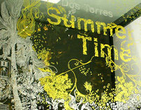 """SUMMER TIME"" window painting"