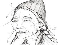 drawings of people...