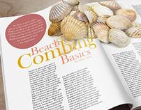Coastal Living Magazine Redesign